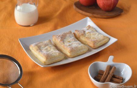 Fagottini mele e crema pasticcera
