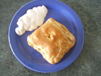 Fagottini di mela e crema pasticcera