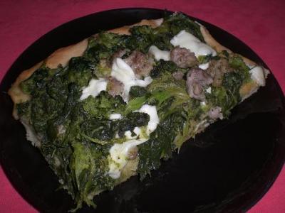 Pizza salsicce e friarielli