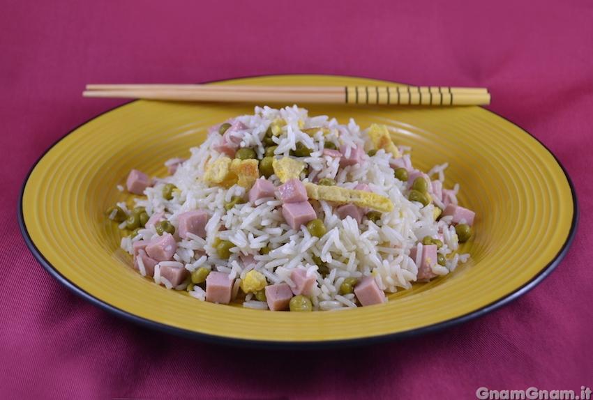 Riso alla cantonese la ricetta di gnam gnam for Ricette cinesi riso
