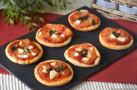 Pizzette alla philadelphia