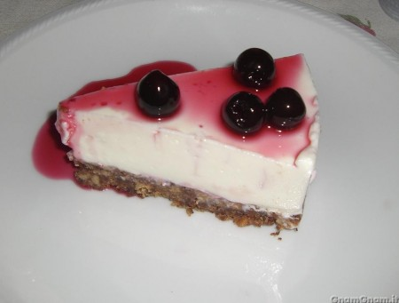 Cheesecake all'amarena