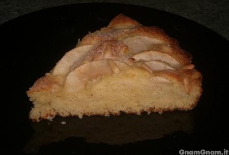 Torta di mele con zenzero e pinoli