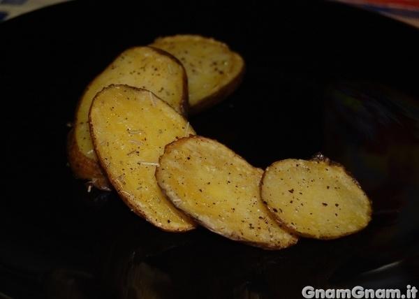 Patate al forno croccanti la ricetta di gnam gnam - Contorno immagine di pipistrello ...