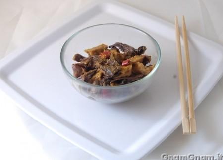 Seitan e funghi