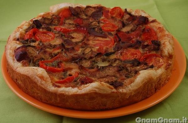Ricetta torta rustica di verdure