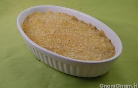 Tortino di patate e bietole