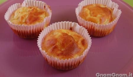 Muffin salati alle cipolle