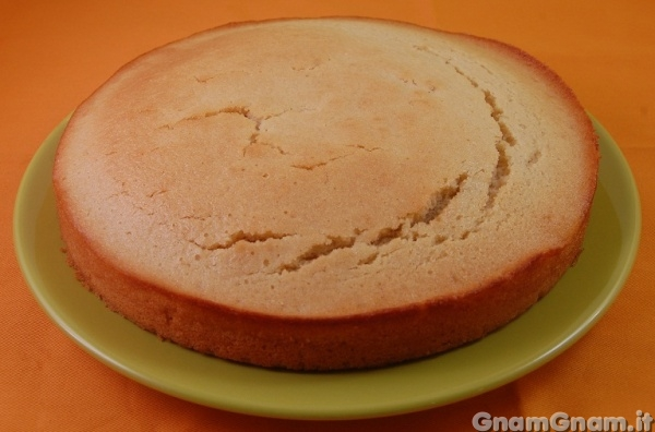 Torta con pan di spagna vegan