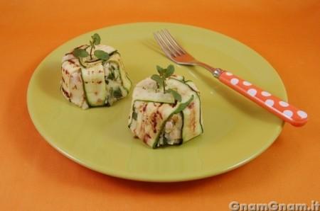 Sformatini di pollo e zucchine