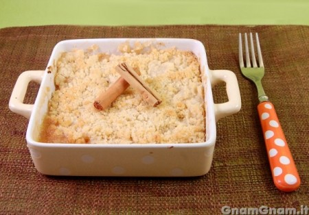 Crumble alle mele
