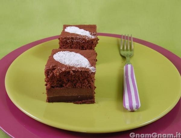 Ricetta Torta Al Cioccolato Gnam Gnam.Torta Magica Al Cacao La Ricetta Di Gnam Gnam
