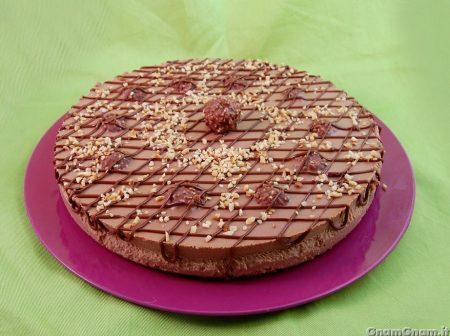 Cheesecake ai ferrero rocher