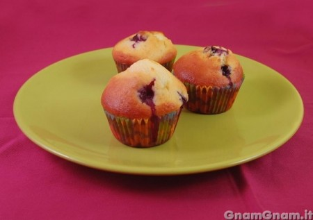 Muffin ai mirtilli - Video ricetta
