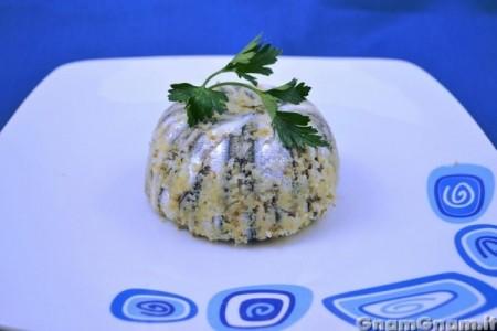 Sformatino di alici e patate