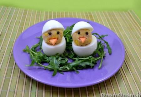 Uova ripiene di Pasqua