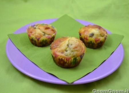 Muffin salati fave e pancetta