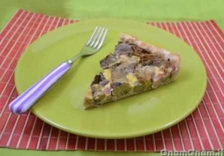 Torta salata carciofi e prosciutto