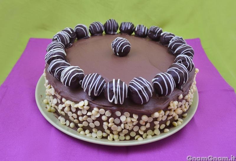 Eccezionale Torta di compleanno al cioccolato - La ricetta di Gnam Gnam  LR02