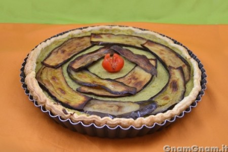 Torta salata vegan