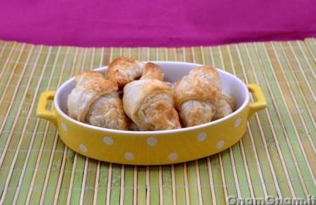 Cornetti gorgonzola e noci