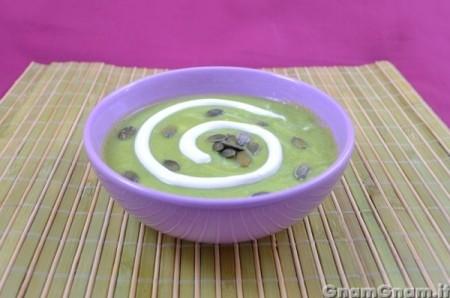 Crema di zucchine e yogurt