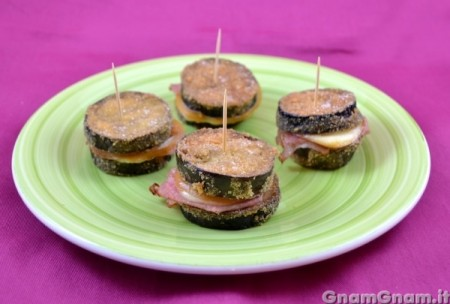 Sandwich di melanzane