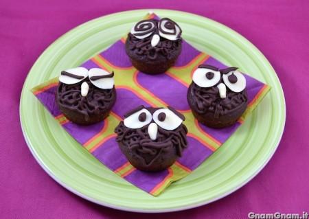 Gufetti cupcake