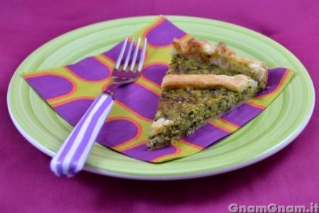Torta salata zucchine e pesto
