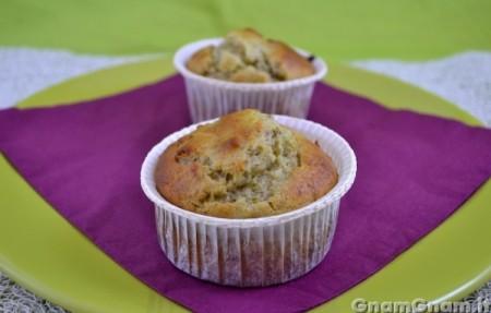 Muffin ricotta e pistacchi