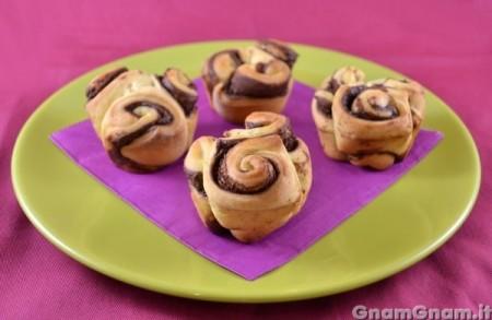 Muffin di roselline