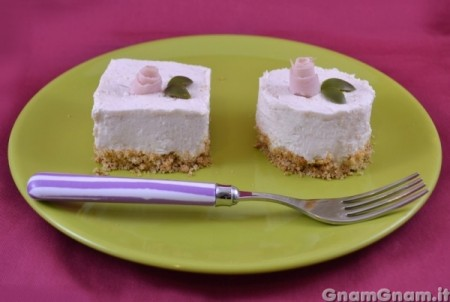 Cheesecake salato al prosciutto