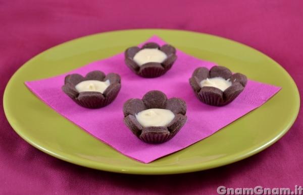 Popolare Fiori di frolla al cioccolato - La ricetta di Gnam Gnam AD52
