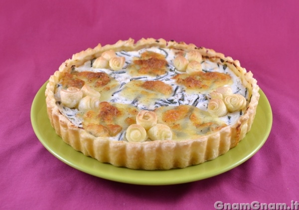 Torta Salata Fagiolini E Ricotta La Ricetta Di Gnam Gnam