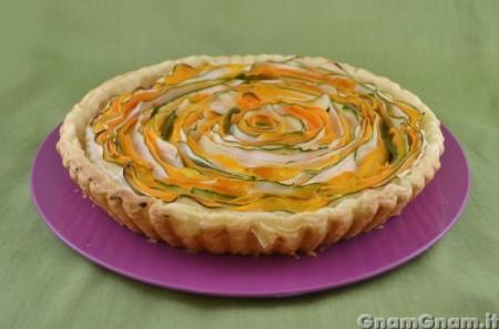 Torta salata spirale