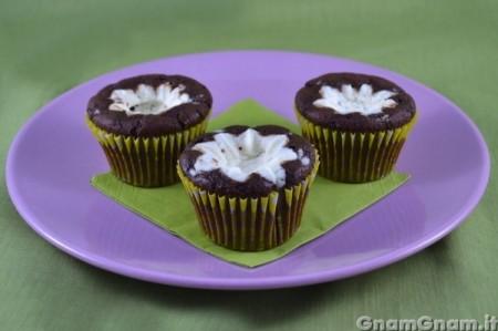 Dolcetti al cioccolato e ricotta