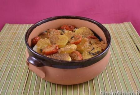 Tiella di patate riso e cozze