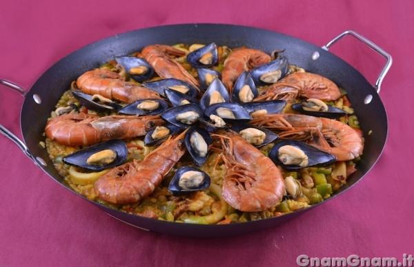 Paella De Marisco La Ricetta Di Gnam Gnam