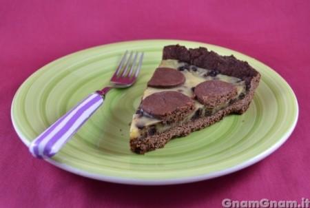 Crostata crema e cioccolato vegan