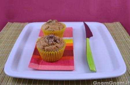 Muffin salati gorgonzola e noci