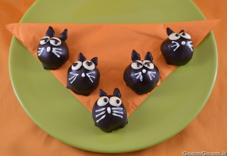 Cake pops gatto