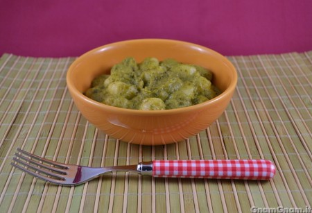 Gnocchi zucchine e gorgonzola