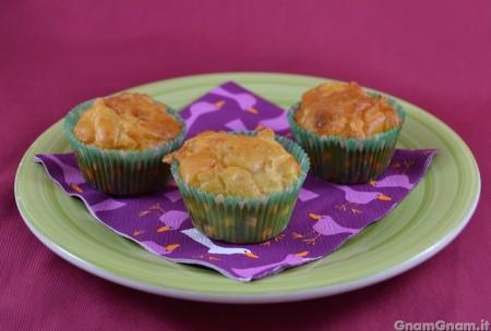 Muffin pollo e formaggio