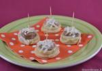 Tartine con salsicce e patate
