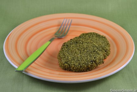 Burger di broccoli e quinoa