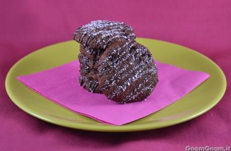 Biscotti vegani al cocco e cioccolato