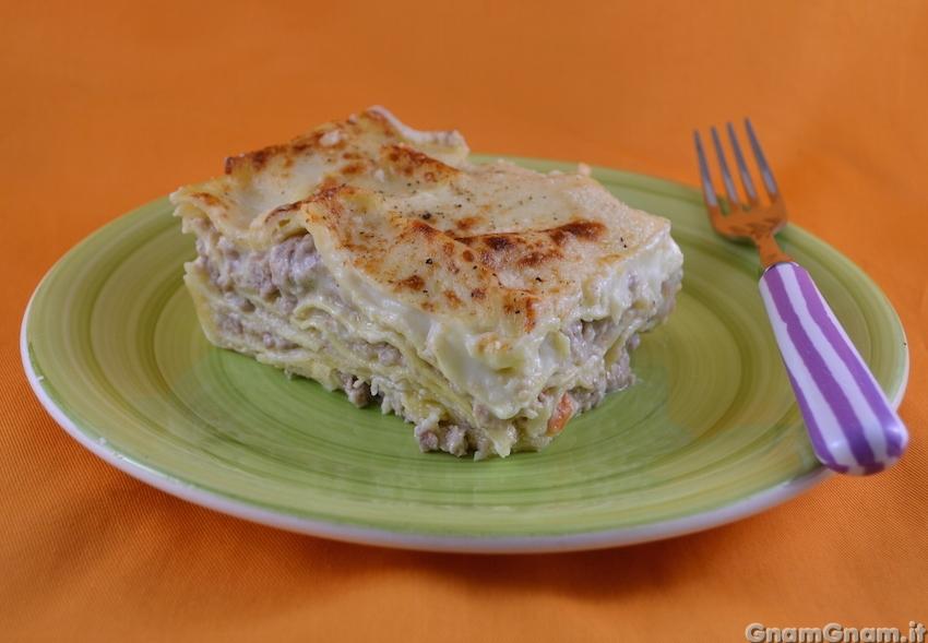 Ricetta Lasagne Bianche.Lasagne Bianche La Ricetta Di Gnam Gnam