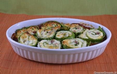 Girelle di lasagne verdi