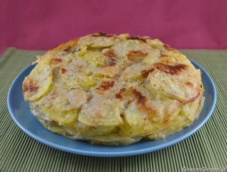 Pasticcio di patate e gorgonzola