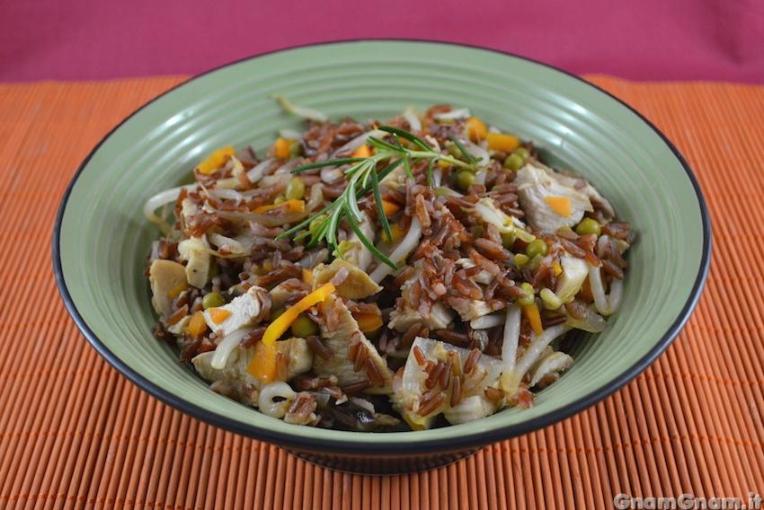 Petto di pollo e riso ricette